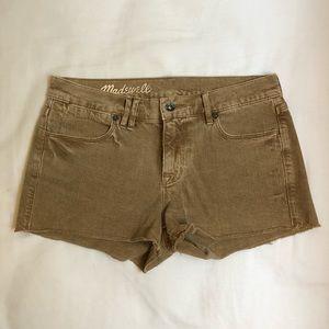 Madewell Size 25 Beige/Tan Shorts